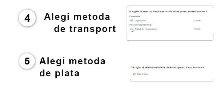 alegi metoda de transport